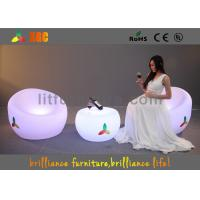 Buy cheap Unbreakable LED Sofa chair , Remote control LED Lighting Furniture from wholesalers