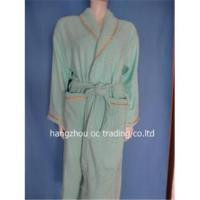 Buy cheap Cotton bath robe from wholesalers