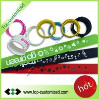 Buy cheap silicone slap bracelet promotional from wholesalers