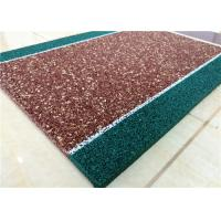 Buy cheap Non Toxin Playground Rubber Flooring , Recyclable Rubber Pellets For Playground from wholesalers