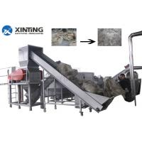 Buy cheap PP Film HDPE Recycling Machine Plastic Bottle Flakes Crushing Washing Drying Line from wholesalers