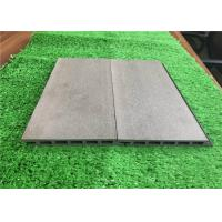 Buy cheap Green Plastic Composite Timber Cladding Panels / Siding Panel Wood Grain Surface from wholesalers