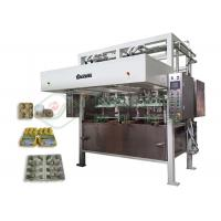 Buy cheap Low Noise Pulp Tray Making Machine / Paper Corner Protector Forming Equipment from wholesalers