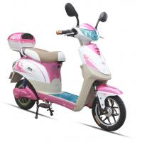Buy cheap 350W Pink Adult Electric Scooter , Battery Operated Scooter With 350W - 450W Motor from wholesalers