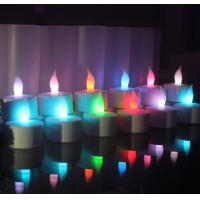Buy cheap good quality color change rechargeable tealight candles with Remote Control in set of 6 from wholesalers