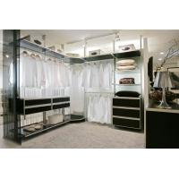 Buy cheap aluminum bedroom design fabric closet assemble with shoe''s rack walk in wardorbes from wholesalers