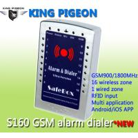 Buy cheap GSM SMS house Alarm System and gsm alarm dialer- ultra version S160 from wholesalers