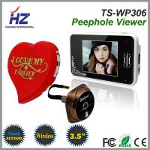 Buy cheap 3.5''touch screen high resolution wireless digital door peephole video door phone from wholesalers