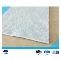 Buy cheap Polyester 431g/m²  Staple Fiber Geotextile Drainage Fabric White from wholesalers