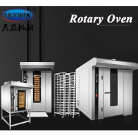Buy cheap Automatic Gas Diesel Electric Industrial Rotary Rack Oven For Bread Baking from wholesalers