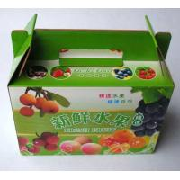 Wholesale carton fruit box with handle from china suppliers