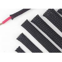 Wholesale Custom Size Expandable Braided Cable Sleeving Excellent Flexibility Wear Resistant from china suppliers