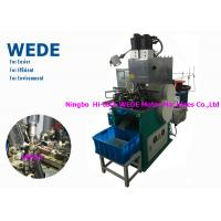 Buy cheap 1 Motor Vertical Electric Motor Winding Machine , Automatic Power Transformer Winding Machine from wholesalers