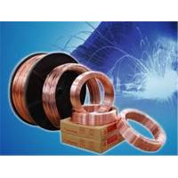 Buy cheap 125kgs 250kgs 350kgs drum packing CO2 gas shielded welding wire ER70S-6 WP green color pure tungsten electrode from wholesalers
