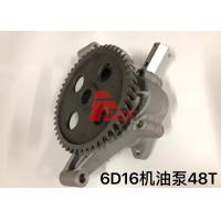 Buy cheap Use For Mitsubishi 6d16 Oil Pump ME034664  Two Type Oil Gear Pump 48t 59t from wholesalers