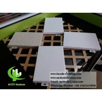 Buy cheap Architectural facade system Aluminium wall clad panels powder coated exterior use from wholesalers