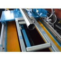 Buy cheap PLC Galvanized Steel Octagon Pipe Roll Forming Machine with Flying Saw Cutting from wholesalers