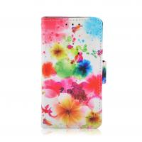 Buy cheap PU & PC Printed Cell Phone Wallet Cases For Ladies , Huawei G510 / Y300 Cover from wholesalers