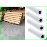 Buy cheap 24 Inch 36 Inch 80gsm Plotter Paper For Garments Industry Wide Format Printer from wholesalers