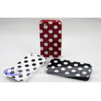 Buy cheap New York Polka Dot Flexible Rubber TPU Mobile Apple iPhone 4 Cases from wholesalers