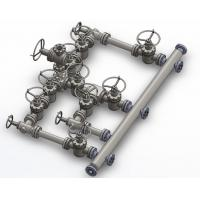 """Wholesale 3-1/8"""" 5000PSI 10 Valves Choke Manifold H2S PSL3 PR1 PU EE from china suppliers"""