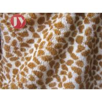 Buy cheap 100% polyester Giraffe Printed Polyester Plush Fabric , Polyester Plush Fabric Stuffed Animal Soft Toys from wholesalers