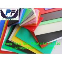 Buy cheap 6mm white/black/blue/red/green color factory price polypropylene plastic corrugated coroplast sheet from wholesalers