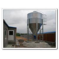Buy cheap Main Stockline for Poultry House Poultry Feed Storage Hopper Poultry Feeder Pan Automatic Poultry Equipment for Broilers Chick from wholesalers