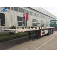 Buy cheap 40t Container Semi Trailer High Tensile Steel Q345 With 12 Pcs Container Lock from wholesalers