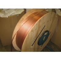 Buy cheap Custom Length Copper Coil Tubing / Pancake Coil Copper Pipe 0.1 - 200mm Wall Thickness from wholesalers