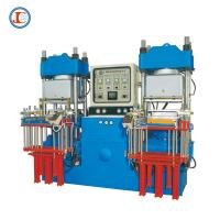 China 250 Ton Rubber Vacuum Compression Molding Machine No Air Bubbles on sale