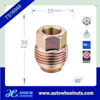 Buy cheap Thread Size 7/16 Chrome Steel Auto Wheel Nuts / Acorn Colored Lug Nuts from wholesalers