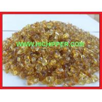Buy cheap Terrazzo Glass Amber crushed glass chips from wholesalers