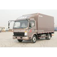 Buy cheap 4x2 Euroii Howo 7000kg Refrigerated Box TruckWith Yunnei Engine And 6 Triangle Tire from wholesalers