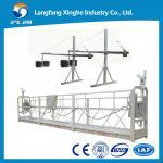 Buy cheap Aluminum wire rope hoist suspended gondola working platform ZLP630 / building cradle from wholesalers