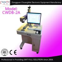 Buy cheap Laser 10w 30w 60w Automatic Labeling Machines For Pet Bottle Printer from wholesalers