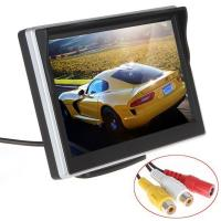Buy cheap Silver Color Car Reverse Camera With Lcd Monitor , Rear View Monitor System 30ms Response Time from wholesalers