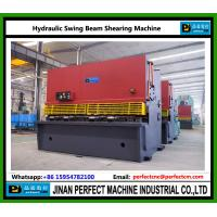 Wholesale Hydraulic Swing Beam Shearing Machine from china suppliers