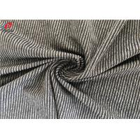 Buy cheap Polyester Spandex Melange Striped Weft Knitted Fabric Environment Friendly from wholesalers