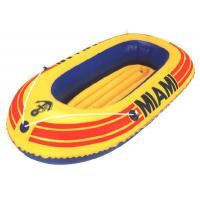 Wholesale One person Small Inflatable Fishing Boats with stainless steel Foot pump from china suppliers