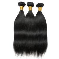 Buy cheap 8 Inch - 30 Inch Remy Indian Hair Extensions Human Hair For Black Weave Straight product