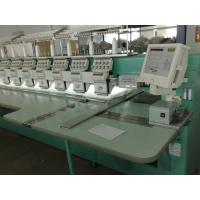 Home Computer Controlled Embroidery Machine Automatic Color Changing / Trimming Manufactures