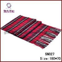 Buy cheap Classic Design Mens Red Scarf Pashmina (SN027) from wholesalers