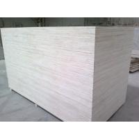Buy cheap Hot sale Birch veneer Poplar core  laminated sheet plywood 18mm for funiture1220X2440X5MMD/EE2 glue plywood for sale from wholesalers