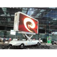 Buy cheap P4 outdoor Car LED Sign Display Density 62500 , SMD High Brightness Led Screen Waterproof from wholesalers