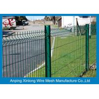 Buy cheap 200*55mm Welded Wire Mesh Fence Galvanized Iron Wire For Sport Field product