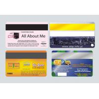 China magnetic strip card on sale