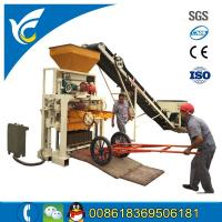 Buy cheap Small concrete sand brick block making machine/4pcs block in one time block machine for sale from wholesalers