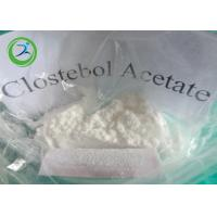 Buy cheap White Crystalline Powder Clostebol Acetate / Testosterone Anabolic Steroid CAS 855-19-6 product