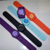 Buy cheap Customized Silicone Wristband Watch Fashionable Slim For Women from wholesalers